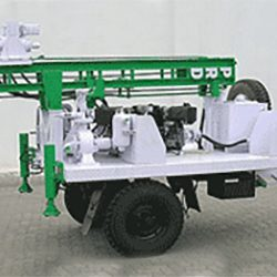 Trailer Mounted Drill Rig